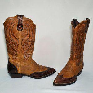 Durango Womens Crush Wave Western Boots Brown 6M